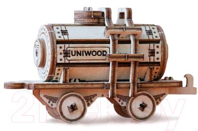 Железная дорога игрушечная Uniwood Цистерна / UW30154