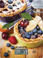 Кухонные весы Scarlett SC-KS57P59 (черничный пирог) -
