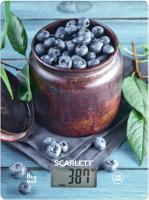 Кухонные весы Scarlett SC-KS57P60 (черника) -