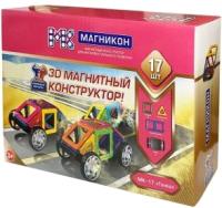 Конструктор магнитный Магникон Гонка / MK-17 -