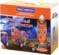 Конструктор магнитный Магникон MK-40 -