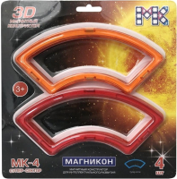 Элемент конструктора Магникон Супер Секторы / МК-4-СС (4шт) -