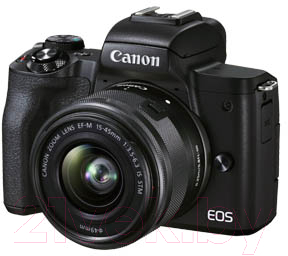 Беззеркальный фотоаппарат Canon EOS M50 Mark II EF-M 15-45mm IS STM Kit / 4728C007