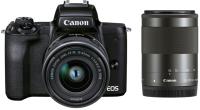 Беззеркальный фотоаппарат Canon EOS M50 Mark II EF-M 15-45mm + 55-200mm kit / 4728C015 (черный) -