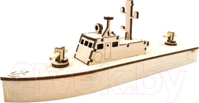 Корабль игрушечный Древо Игр Патрульный катер / DI-K002