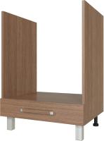 Шкаф под духовку Modern Ника Н246 (ясень темный) -
