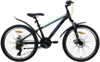 Велосипед AIST Rocky Junior 2.1 24 2021 (черный) -