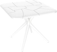 Обеденный стол Sheffilton SHT-TU30/TT30 83x83 (белый) -