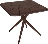 Обеденный стол Sheffilton SHT-TU30/TT30 83x83 (коричневый) -