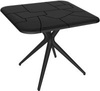 Обеденный стол Sheffilton SHT-TU30/TT30 83x83 (черный) -