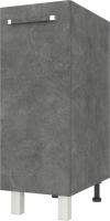 Шкаф под мойку Modern Ника Н223 (камень темный) -