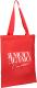 Сумка-шоппер No Brand Могу / 5233300 (красный) -