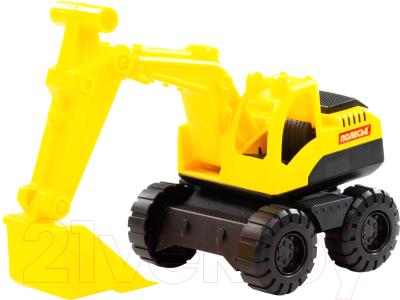 Экскаватор игрушечный Полесье Эксперт / 84187