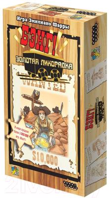 Настольная игра Мир Хобби Бэнг! Золотая лихорадка 2020г / 915314
