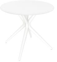 Обеденный стол Sheffilton SHT-TU30/TT76 (белый) -