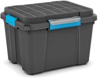 Контейнер для хранения Keter Scuba Box M BK/SKG / 8433000 (черный/синий) -