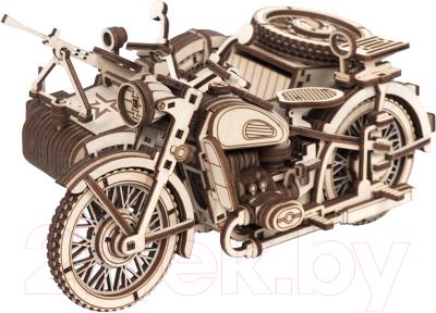 Мотоцикл игрушечный Армия России Мотоцикл с коляской / AR-K003