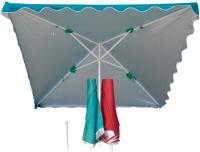 Зонт садовый Afina Garden UM-240/4D(10) -