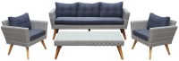 Комплект садовой мебели Afina Garden AFM-605G с диванами (Grey) -