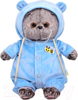 Фото - Мягкая игрушка Budi Basa Басик BABY в спальном комбинезоне / BB-071 игрушка мягкая budi basa басик baby в шапке панда 20 см bb 070