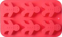 Форма для выпечки Walmer Gingerman / W27261628  (красный) -