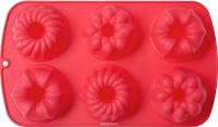 Форма для выпечки Walmer Muffins / W27291738 (красный) -