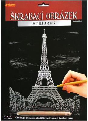 Набор для творчества ArtLover Гравюры-голограммы. Эйфелева башня / SCS-EP200