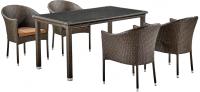 Комплект садовой мебели Afina Garden T256A/Y350A-W53 (Brown) -