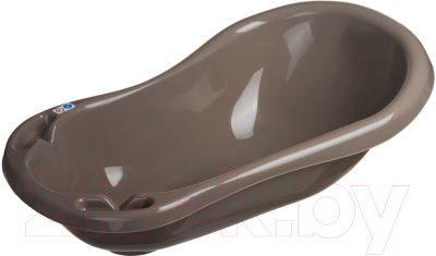 Ванночка детская Maltex Классик / 0936 (темно-коричневый)