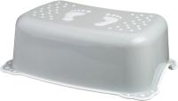 Табурет-подставка Maltex Классик / 7309 (серый/белый) -
