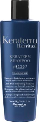 Шампунь для волос Fanola Keraterm Hair Ritual для выпрямленных химически поврежден. волос (300мл)