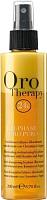 Кондиционер-спрей для волос Fanola Oro Therapy 24k Oro Puro несмываемый восстанавлив. двухфазный (200мл) -