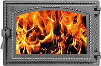 Дверца печная Везувий 230 (антрацит) -
