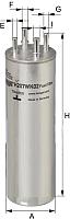 Топливный фильтр Hengst H207WK02 -