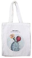 Сумка-шоппер MONAMI BAG-08 (кактус голубой) -