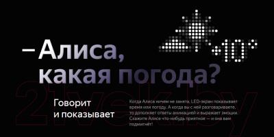 Умная колонка Яндекс Станция Макс YNDX-0008 (красный)