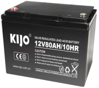 Батарея для ИБП Kijo 6-EVF-80Ah M6 / 12V80AH -