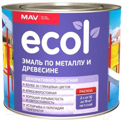 Эмаль MAV Ecol ПФ-115