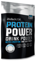 Протеин BioTechUSA Protein Power / I00000503 (1кг, клубника-банан) -