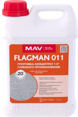 Грунтовка MAV Flagman ВД-АК-011 концентрат 1:7