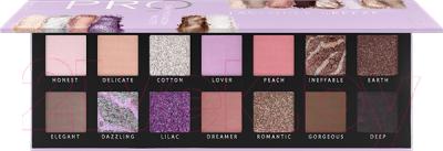 Палетка теней для век Catrice Pro Lavender Breeze Slim Eyeshadow Palette тон 010 guerlain palette golden bee палетка теней для век