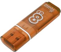 Usb flash накопитель SmartBuy Glossy series Orange 8GB (SB8GBGS-Or) -