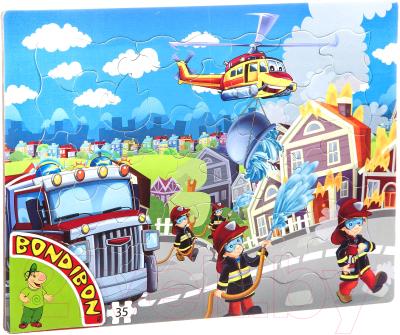 Пазл Bondibon Пожарная служба / ВВ4670