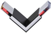 Потолочный светильник Novotech Iter 135077 (угловой соединитель, черный) -