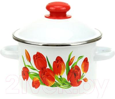 Кастрюля Сибирские товары Тюльпаны / 1MD181M