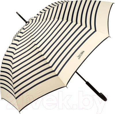 Фото - Зонт-трость Jean Paul Gaultier 206-LA Stripes Crema/Blu jean paul gaultier soleil юбка до колена