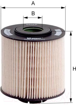 Топливный фильтр Hengst E52KPD36