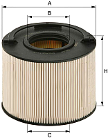 Топливный фильтр Hengst E84KP D148 -