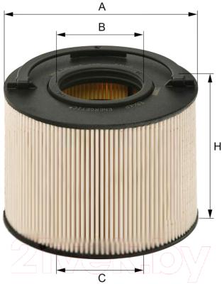 Топливный фильтр Hengst E84KP D148