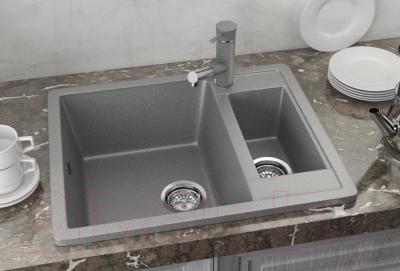 Мойка кухонная Ulgran U-106 (308 черный)